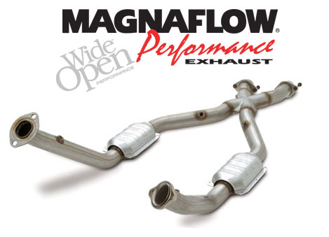 2005-09 Mustang 4.6L GT Magnaflow Tru-X X-Pipe (Catted)