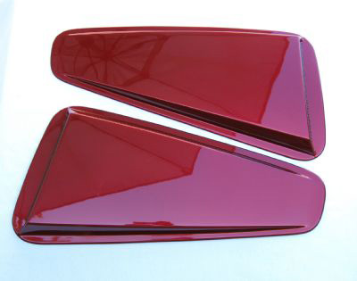 05-09 Mustang SALE Upper Scoops ABS PLASTIC (Pair)
