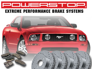 2005-2011 Mustang GT Power Stop Brake Kit - Rotors & Pads