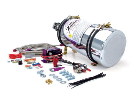 2005-2010 Mustang GT ZEX Nitrous System (Polished Bottle)