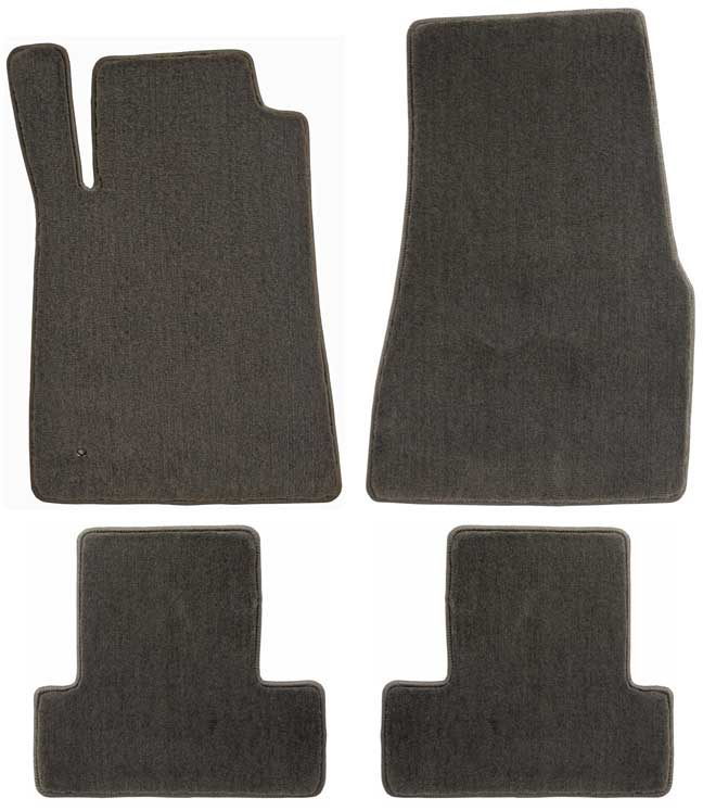 2005-2010 Mustang Coupe / Convertible Floor Mats - Grey