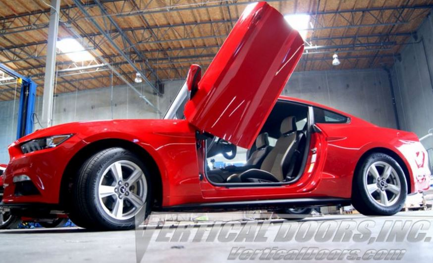 2015-18 Mustang VERTICAL DOOR KIT system (Direct Bolt on) - With $200 Discount