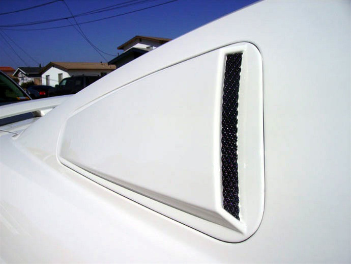 2005-09 COMBO Mustang Lower Door Scoops + Upper Scoops