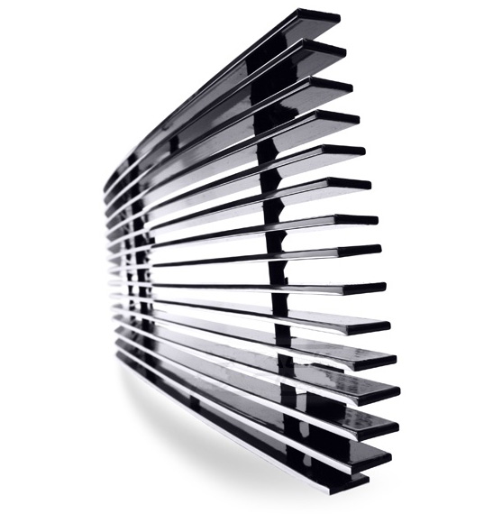 "Universal Billet Grille 30"" x 5"" for lower bumper openings (Custom fit Cut to Size)"