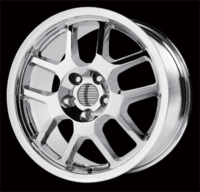 "COBRA 310 (V1146) CHROME - 5 Lug 05-17 (sizes available 17"")"