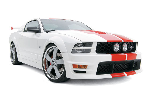 05-09 Mustang 3D Carbon Boy Racer 10PC Bodykit (Paint Options) ($50.00 VISA GIFT CARD ENDS AUG 31 2014)