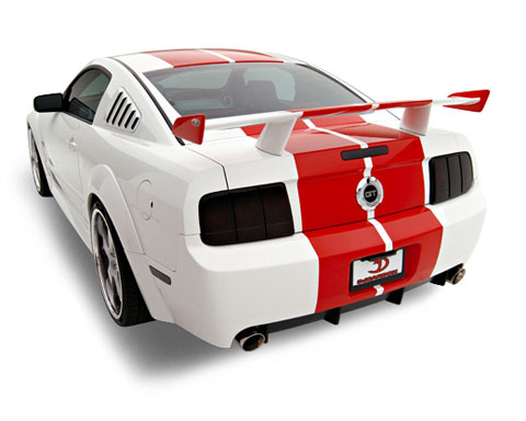 05-09 Mustang 3D Carbon Boy Racer 10PC Bodykit (Paint Options)