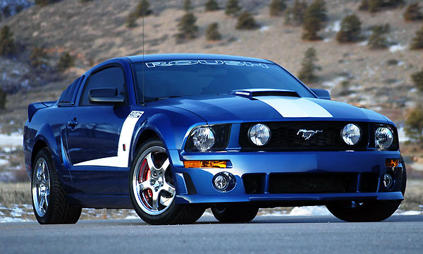 2011-2012 Mustang Roush Complete Suspension Kit