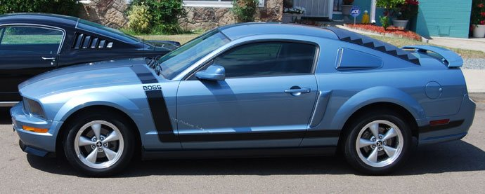 2005-2009 Mustang Complete BOSS Style stripe 14PC Kit
