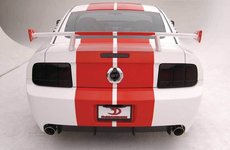 2005-2009 Mustang 3D Carbon Boy Racer Wing (Paint Options)