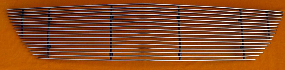 2007-2009 Mustang GT500 Shelby Upper Billet Grille (801136) CHROME or BLACK