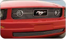 05-09 Mustang V6 - Upper Billet Grille for PONY PACKAGE (801139) CHROME or BLACK