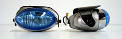 "Ultra White 4"" OVAL Fog Light Kit 872"