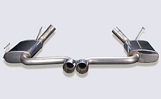 05-09 Mustang Street Scene Center Mount Exhaust For Rear Valance