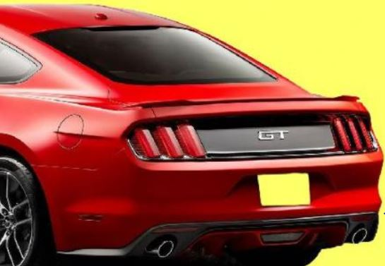 2015-16 Mustang Coupe Factory Style Flush Mount RAISED BLADE Spoiler Wing (Paint Options)