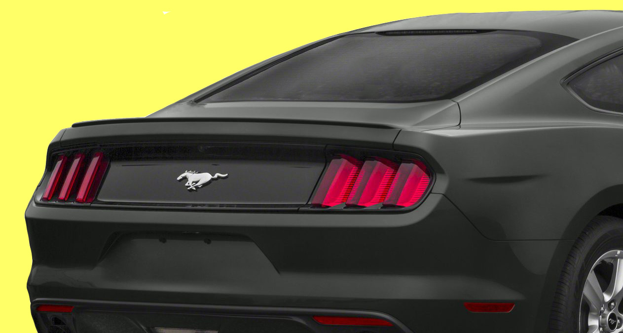 2015-18 Mustang Coupe Hard top Flush Mount BLADE Spoiler Wing (Paint Options)
