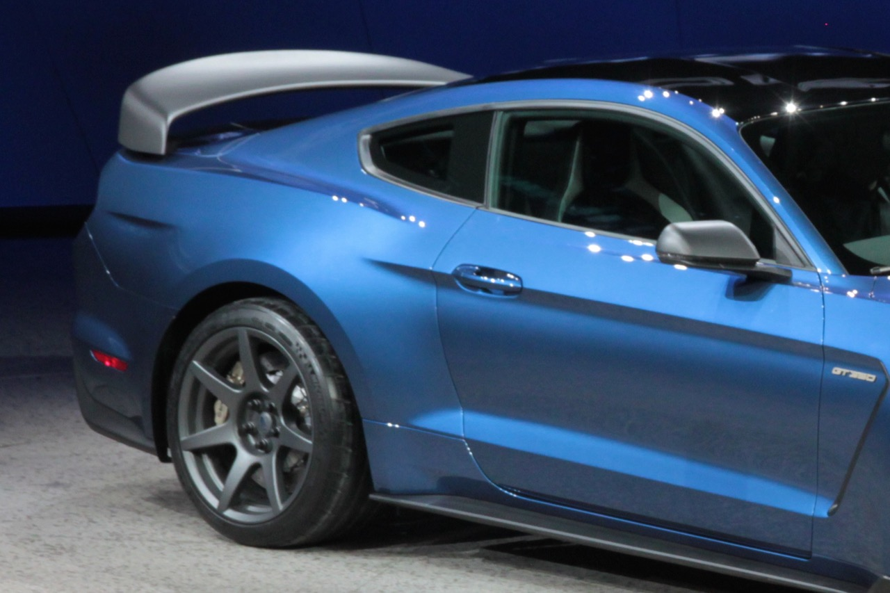 2015-18 Mustang GT350 Style COUPE Type Factory Spoiler Wing COUPE (Paint Options)