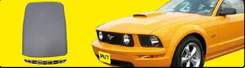2005-2013 Mustang GT/V6 Hood Scoop PRIMERED (Paint Options)