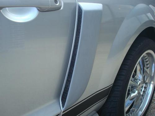 05-09 Mustang GT/V6 Side Scoops (Paint Options)
