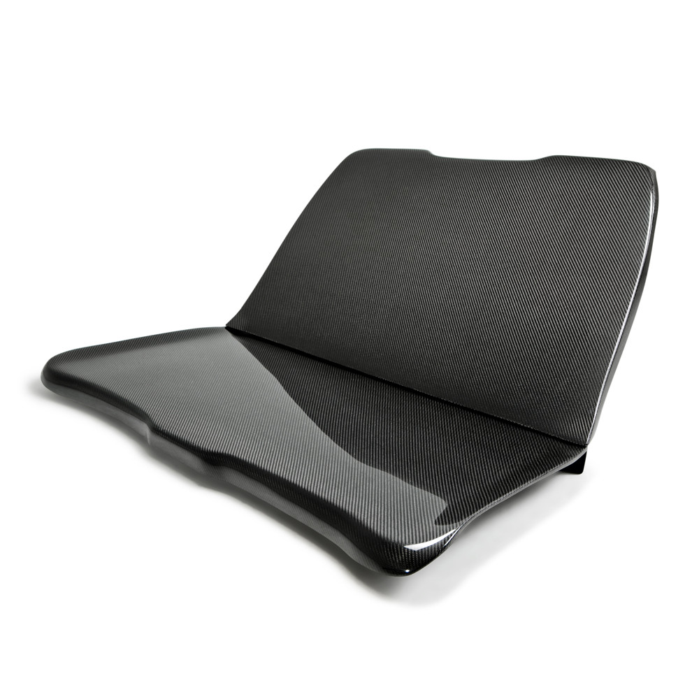 2015-18 Mustang Rear SEAT DELETE Carbon (Fits All Models) CARBON FIBER