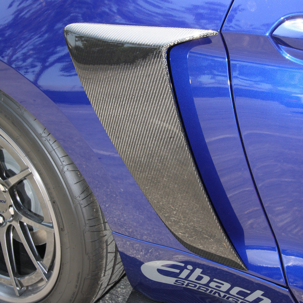 2015-17 Mustang Lower Door Scoops (Fits all models) CARBON FIBER