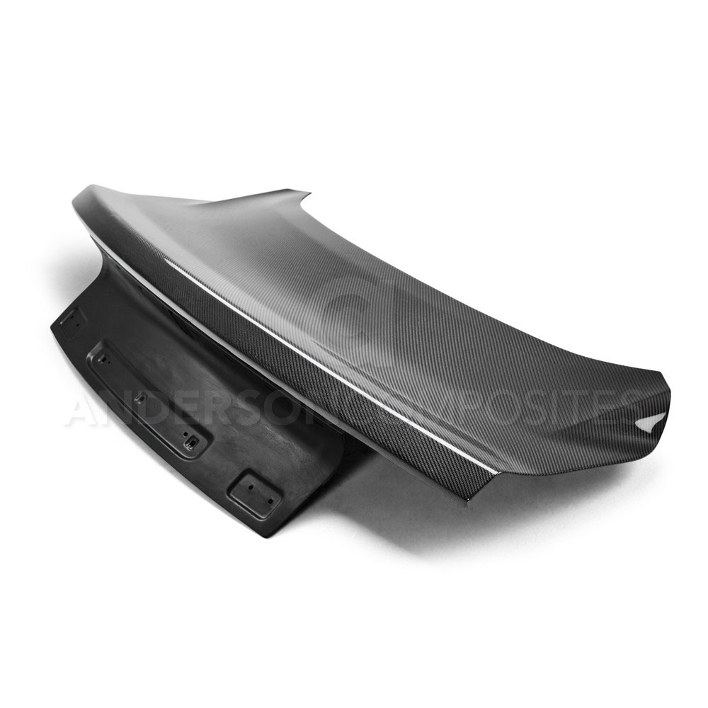 2015-17 Mustang Carbon Fiber Trunk Deck Lid OEM Style (Fits All Hardtop Models) CARBON FIBER