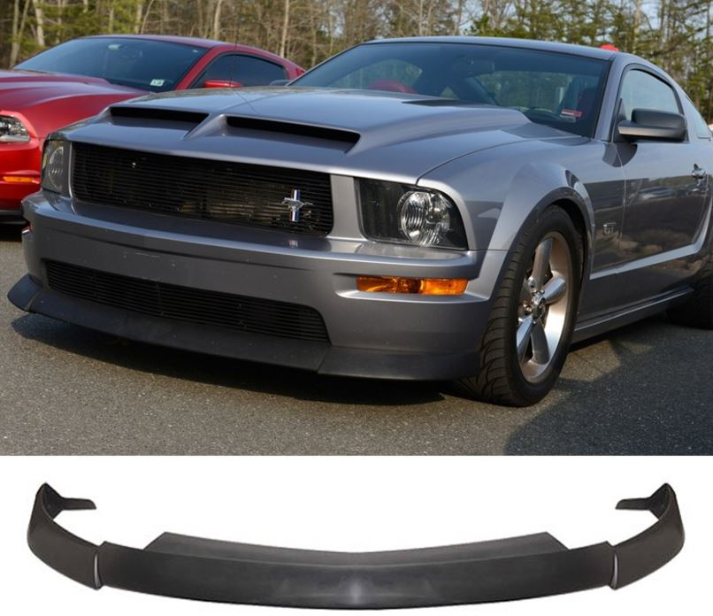 05-09 Mustang GT Front Bumper Lower Lip Type C2 - Polyurethane FREE SHIPPING