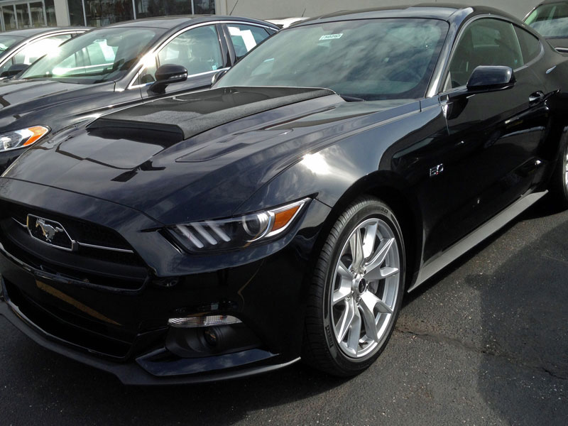 2015 Mustang Concept II Hood Scoop Fits V6/GT/ECO (Paint Options)
