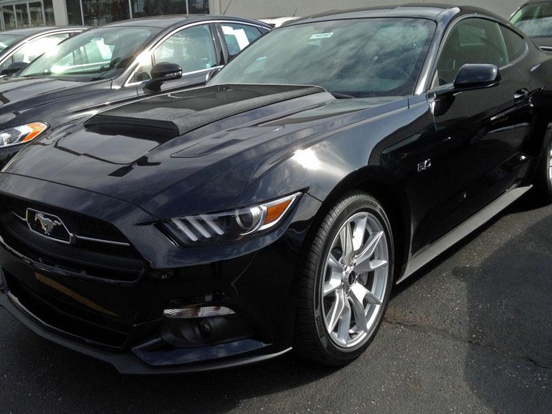 2015 2017 Mustang Concept Ii Hood Scoop Fits V6 Gt Eco