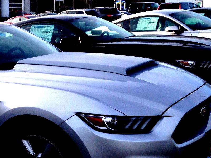 2016 Mustang Hood Scoop >> 2015-2017 Mustang Concept II Hood Scoop Fits V6/GT/ECO