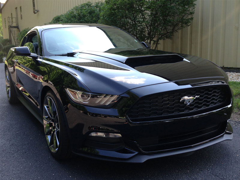2015-2017 Mustang Concept I Hood Scoop Fits V6/GT/ECO (Paint Options)
