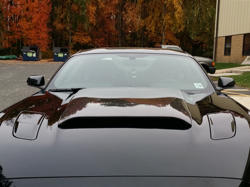 2015 2017 Mustang Concept I Hood Scoop Fits V6 Gt Eco