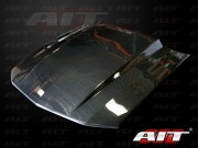 05-09 Mustang 3 INCH Cowl Type 4 Hood AIT (CARBON FIBER)