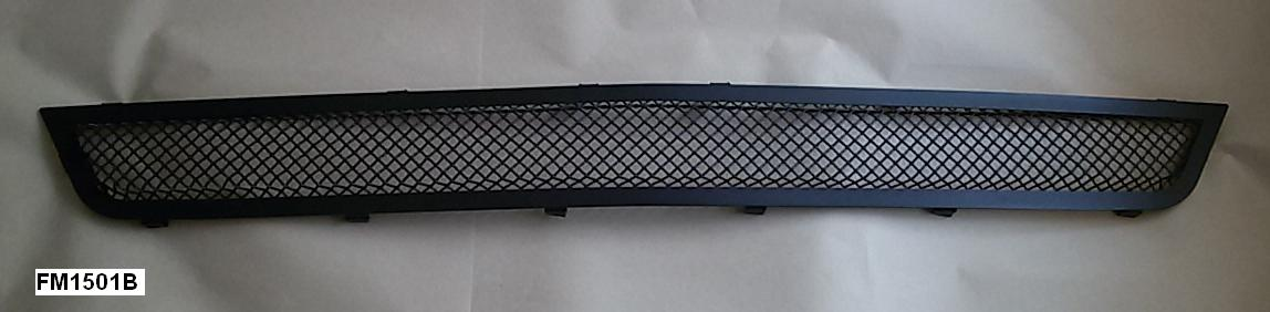 2015-2017 - Upper / Lower Full Replacement 3D Formed MESH Grilles - BLACK (GT, V6, ECO BOOST, 50th) FULL MESH LOOK