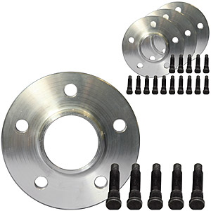 1994-2004 Mustang Wheel 24 Piece Spacer & Stud Kit 13mm (4 spacers Front and Rear + 20 studs) Fits 05-09 Wheels to 94-04