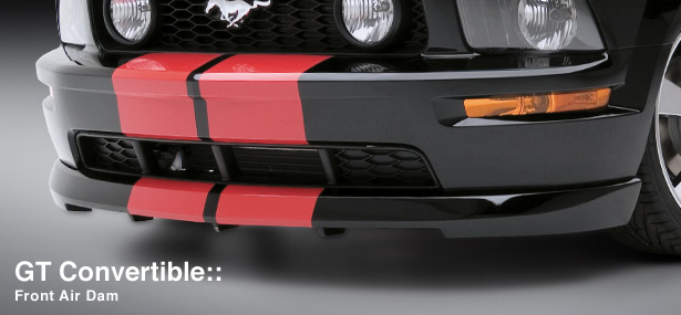 05-09 Mustang 3D Carbon GT Styling - Front Air Dam (Paint Options)