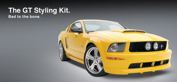 05-09 Mustang 3D Carbon GT Styling kit 6PC w/Upper and Lower Side Scoops
