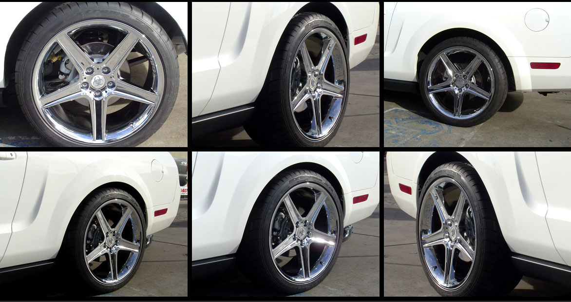 "TOXIC Wheel - CHROME - 5 Lug 05-17 (sizes available 20x10"") SET OF 4 (LIMITED SETS LEFT DONT MISS OUT)"