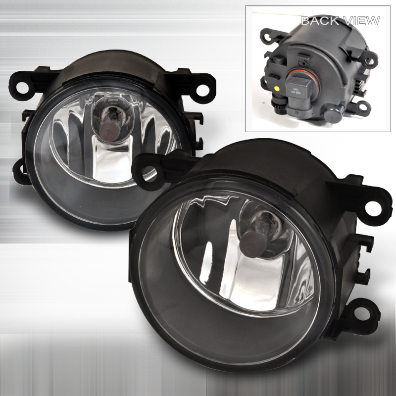 05-09 Mustang V6 Fog Lights for Pony Package - CHROME (V6 ONLY) - (Pair)