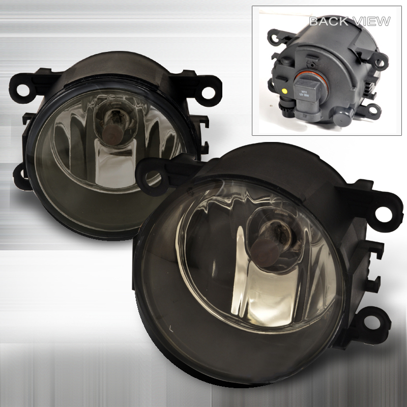 05-09 Mustang V6 Fog Lights for Pony Package - SMOKED (V6 ONLY) - (Pair)