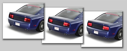 05-09 Mustang Taillights Gen 9 - Standard bulbs with built in Sequential Blink 1 - 2 - 3 Taillights - SMOKED (Pair)