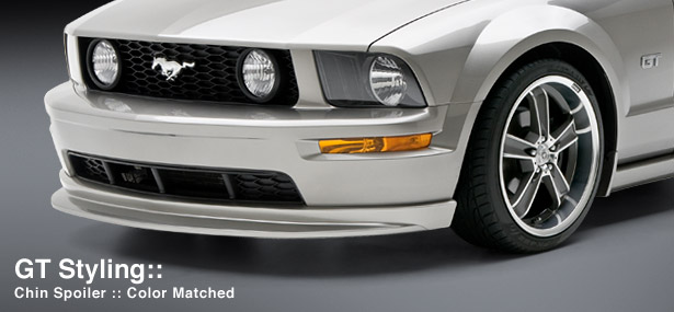 2005-2009 Mustang 3D Carbon GT only Chin Spolier (Paint Options)