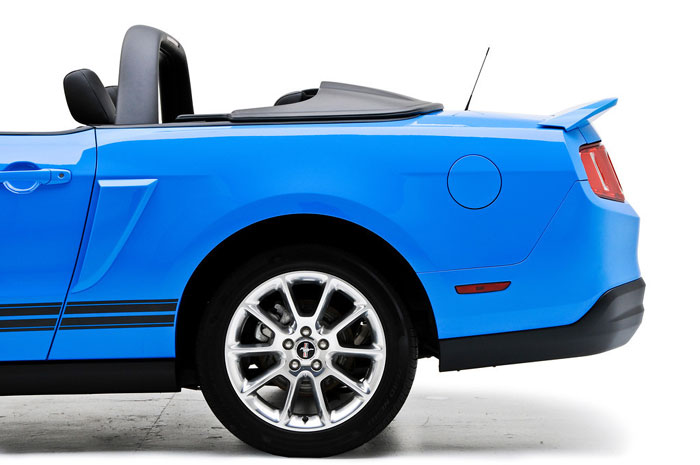 2005-2014 Mustang 3D Carbon Convertible Tonneau Cover 1PC