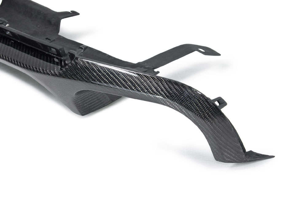 2013-2014 Ford Mustang GT500 Style carbon fiber Rear Diffuser - CARBON FIBER (GT500 Only)