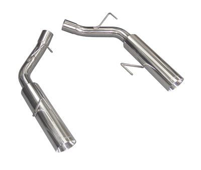 2005-2010 Mustang GT 4.6L Pype Bomb Axle-Back Muffler Delete System - Polished - by PYPES
