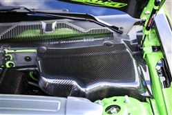 2005-2013 Mustang Carbon Fiber Battery & Master Cylinder Covers (V6/GT)