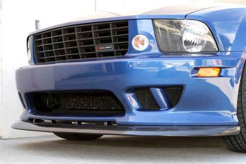 2005-2009 Mustang Saleen Chin Spoiler - CARBON FIBER (FITS ONLY Saleen front bumper only)