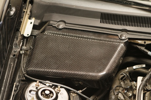 2005-09 Mustang Battery & Master Cylinder Cover Kit - Carbon Fiber
