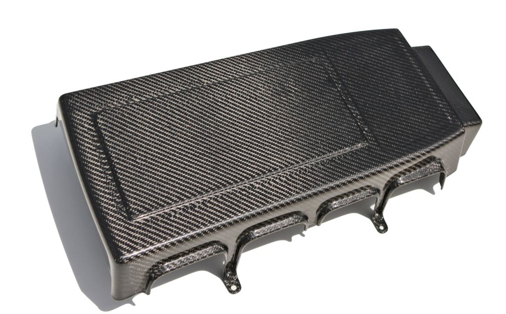 2005-2009 Mustang Carbon Fiber GT - LG97 Engine Cover (GT ONLY) - CARBON FIBER