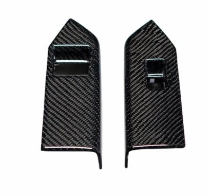 2010-2014 Mustang Carbon Fiber LG107 Window Switch Covers (V6/GT/GT500)